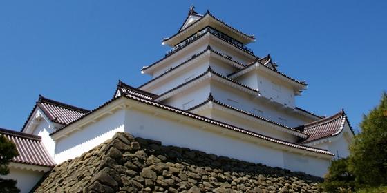 「ニッポン城めぐり」写真レンタルイメージ-会津若松城